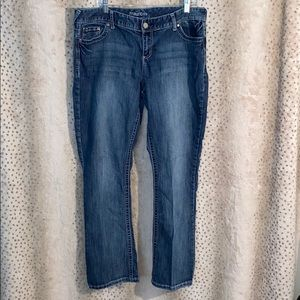 Maurices bootcut stretchy jeans